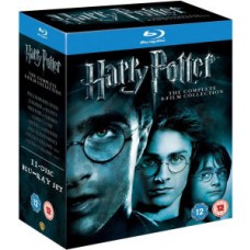 Harry Potter - The Complete Collection (1-7.2) Blu-ray