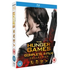 The Hunger Games - Complete Collection Blu-Ray