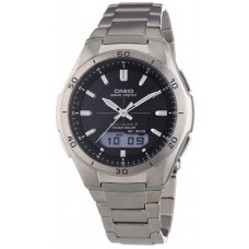 CASIO Men's Radio-Controlled Watch With Wave Ceptor Technology