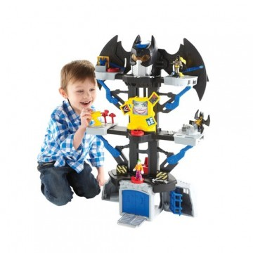 DC Super Friends Transforming Batcave Playset