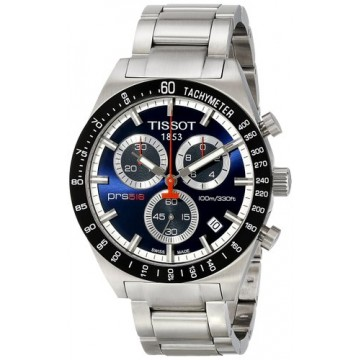 TISSOT PRS516 Blue Dial Chronograph Mens Watch