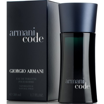 Armani Code For Men Eau De Toilette 50ml