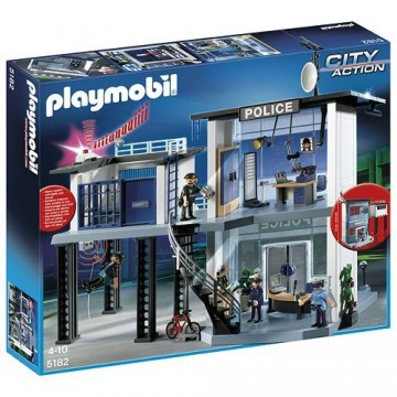 PLAYMOBIL Action City Police Station