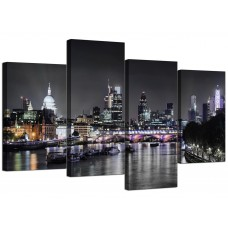 Canvas Wall Art of London Skyline