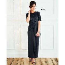 Black Long Dress From Cotton Traders
