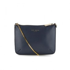 Ted Baker Women's Harley Crosshatch Chain Cross Body Bag - Navy
