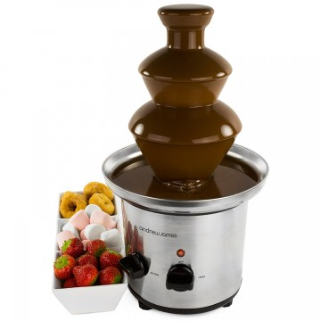 Andrew James Premium Stainless Steel Chocolate Fountain