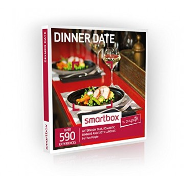 Dinner Date Gift Experiences Box - 590 gourmet gift experiences