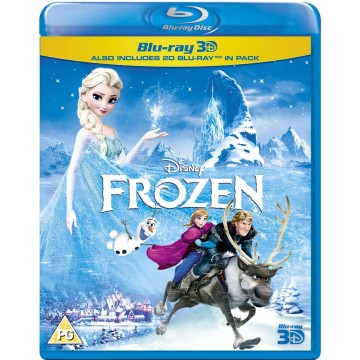 Frozen 3D Blu-Ray