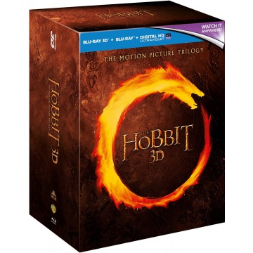 The Hobbit Triliogy - Blu Ray 3D Box Set