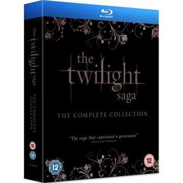 Twilight Saga - The Complete Completion In Blu-Ray