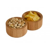 Double Snack Bowl By Lincoln Rivers For WireWorks