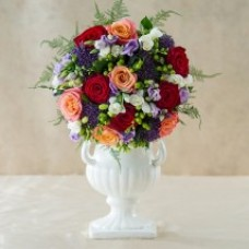 Coral Bouquet From Appleyard Flowers