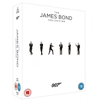 James Bond 23 Film Blu Ray Collection